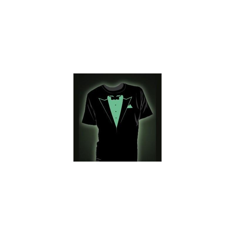 Tricou fosforescent Tuxedo