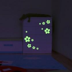 Sticker decorativ glow luminos model Floricele