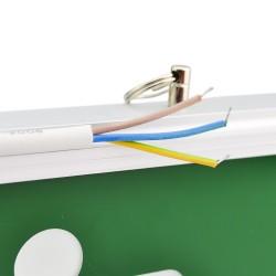 Panou semnalizare LED, semn EXIT sus, cu acumulator