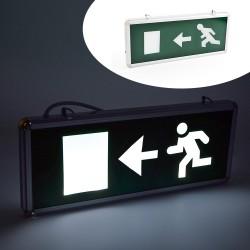 Panou LED indicator EXIT dreapta, cu acumulator