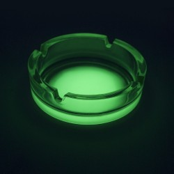 Scrumiera luminoasa fosforescenta