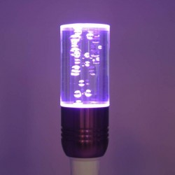 Bec decorativ Crystal LED RGB 3W GU 10 cu telecomanda