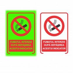 Semn fosforescent Fumatul Oprit