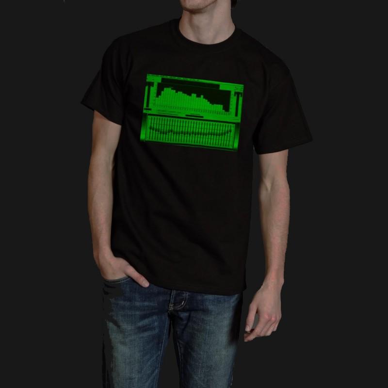 Tricou fosforescent cu egalizator