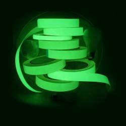 Banda fosforescenta luminoasa autoadeziva 8 ore GLOW