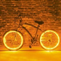 Kit luminos nocturn pentru tuning roti bicicleta