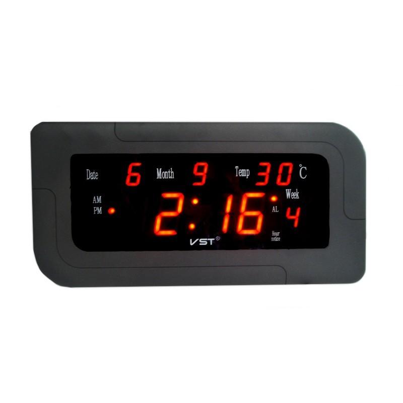 Ceas LED All Ages cu calendar si termometru