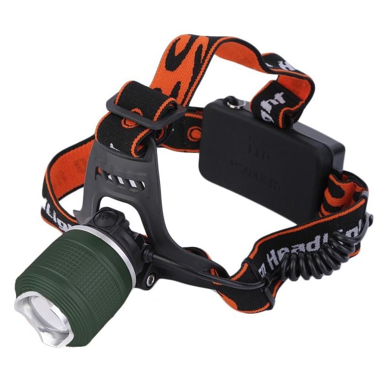 Lanterna frontala Zoom, 3 functii LED