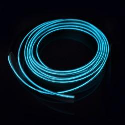 Fir neon electroluminescent EL wire pentru imbracaminte