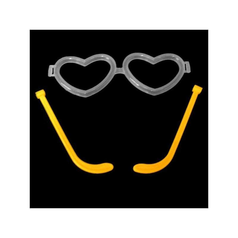 Accesorii ochelari luminosi inimioara