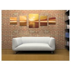 Set Tablou Dual-View Apus de soare