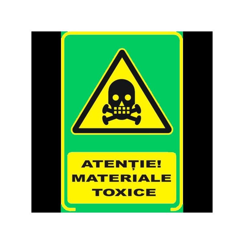 Semn fosforescent Materiale Toxice