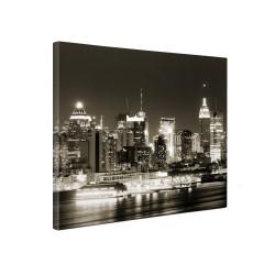 Tablou canvas fosforescent Manhattan