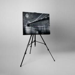 Tablou canvas fosforescent Brooklin Bridge, 60x40 cm