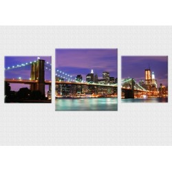 Set Tablou Dual-View New York