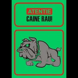 Semn fosforescent Obiectiv Protejat Caine