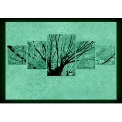 Set tablou fosforescent Sub stejar