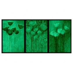 Set tablou 3 piese fosforescent Trei culori