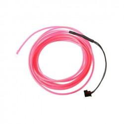 Fir cu lumina ambientala pentru auto, neon ambiental flexibil 3,2 mm
