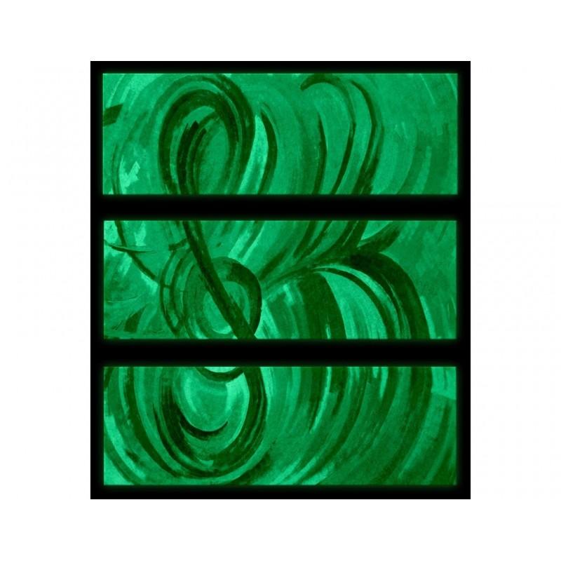 Set Tablou Dual-View Albastru muzical