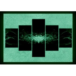Set tablou fosforescent Euforia