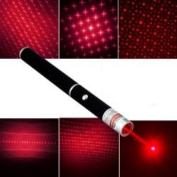 Laser pointer rosu, putere mare 100mW, forma stilou