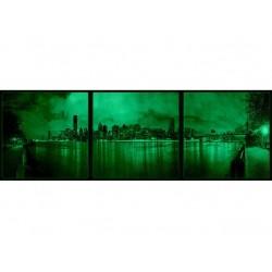 Set Tablou Dual-View Manhattan noaptea