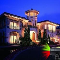 Proiector laser iluminat casa sau gradina, cu telecomanda