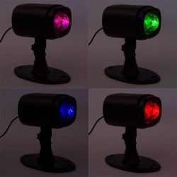 Proiector Caleidoscop multicolor, Exterior/Interior, telecomanda