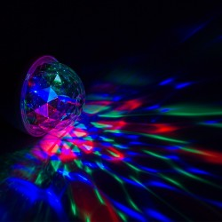 Bec Disco rotativ multicolor automat