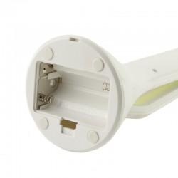 Lampa de masa 16 LED-uri, 3 trepte lumina, buton tactil on/off, adaptor USB sau baterii