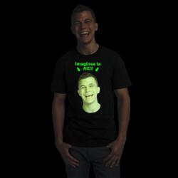 Tricou fosforescent personalizabil