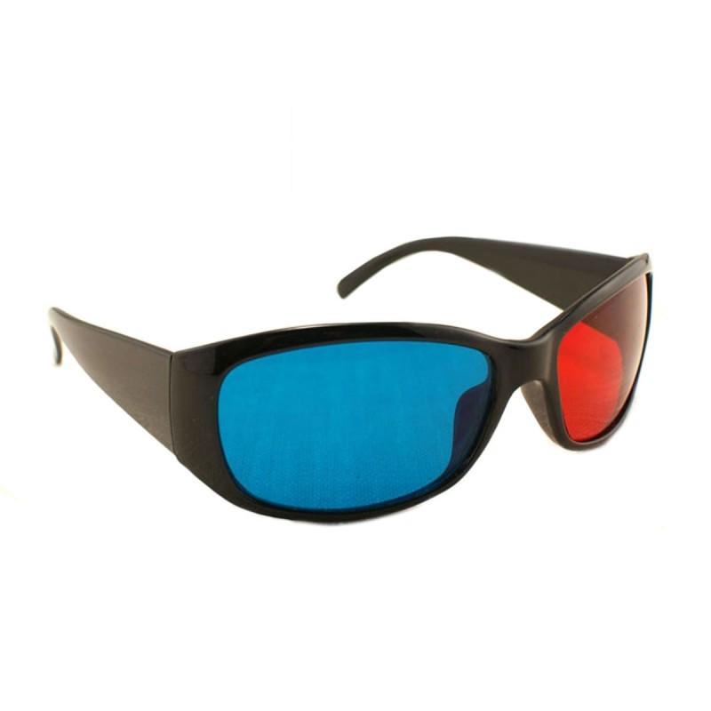 Ochelari 3D, red-cyan, pasivi, rame plastic
