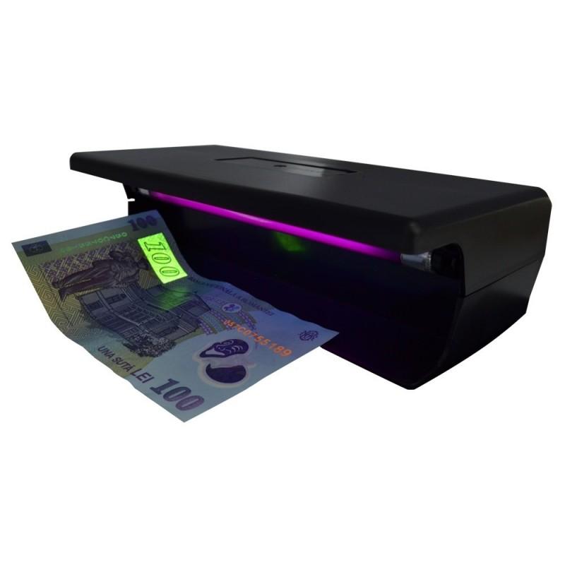 Tester bancnote cu lampa UV 6W