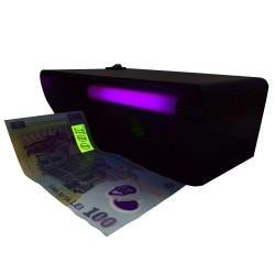 Tester profesional de bancnote cu lampa UV 4W