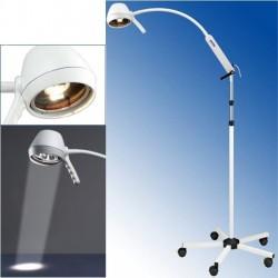 Lampa de examinare  35W cu brat flexibil, filtru UV, cu stativ 108 cm