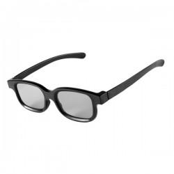 Ochelari 3D pasivi polarizati  tip Wayfarer pentru TV