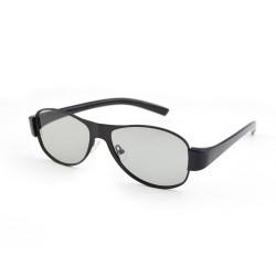Ochelari 3D pasivi polarizati model aviator pentru TV