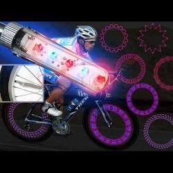 Lumina spite 5 LEDuri cu 32 moduri de iluminat automate