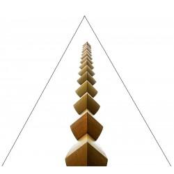 Tablou fosforescent triunghi Coloana Infinitului