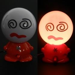 Lampa pentru birou veioza haioasa rosie