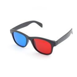Ochelari 3D red cyan cu rame de plastic