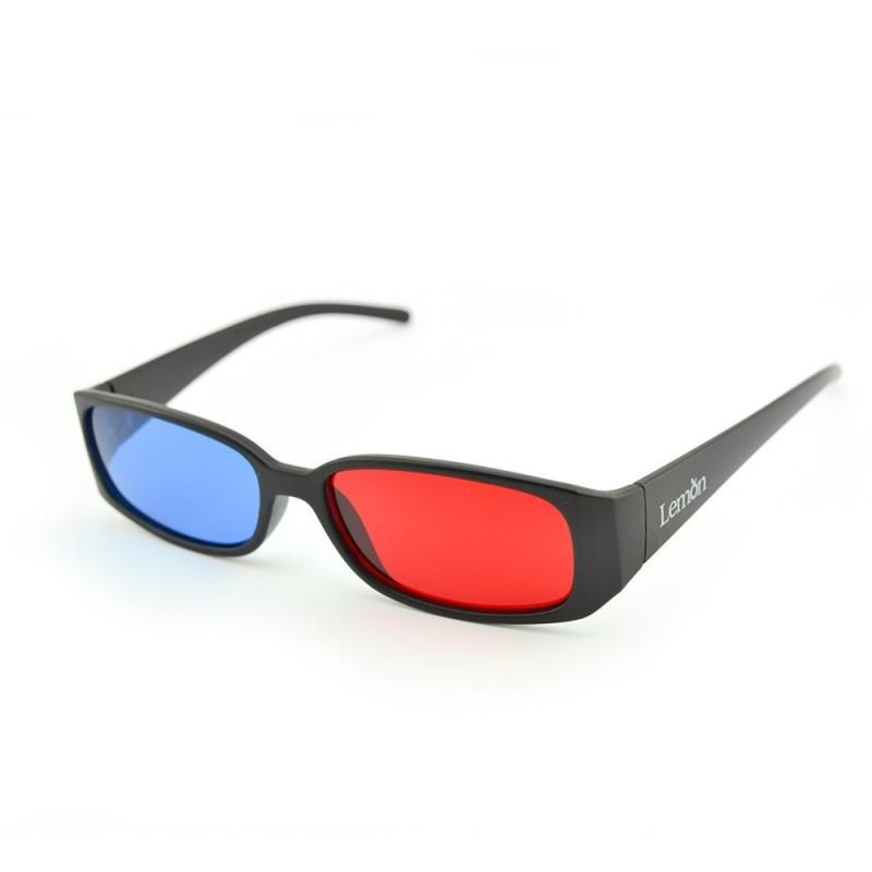 Ochelari 3d red-cyan model CLASIC cu rame si lentile din plastic