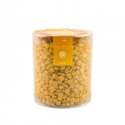 Ceara naturala fierbinte, galbena, perle 500 ml