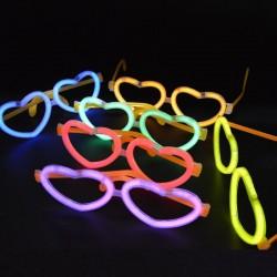 Ochelari luminescenti forma inimioara