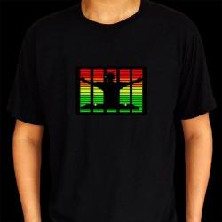 Tricou egalizator DJ cu bratele deschise
