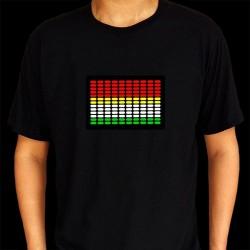Tricou egalizator multicolor