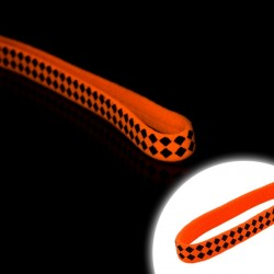 Bentita elastica pentru par, Fluorescenta
