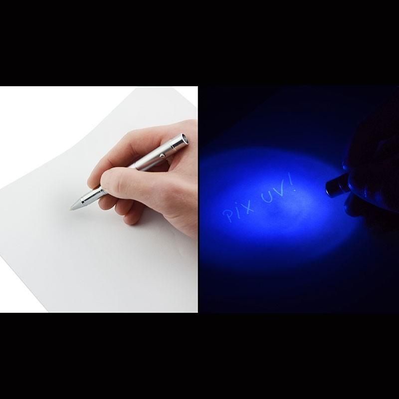 Pix cu pasta invizibila si LED UV