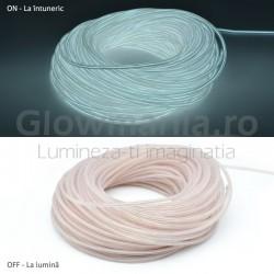 Kit 3m fir electroluminescent flexibil cu invertor